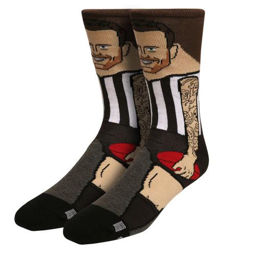 Collingwood Jeremy Howe Kids Nerd Socks