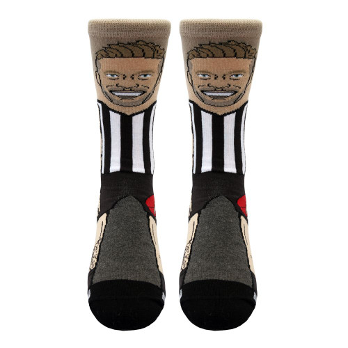 Collingwood De Goey Adults Nerd Socks