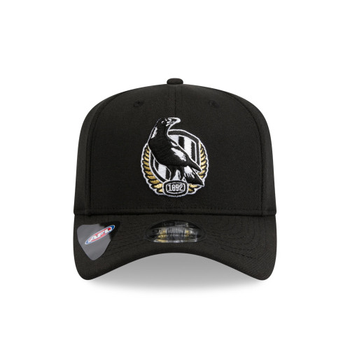 Collingwood New Era 950 Stretch Core Logo Cap