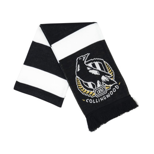 Collingwood Premium Supporter Scarf - Hooped