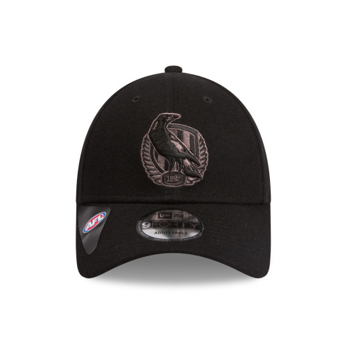 Collingwood New Era Winter Night Melton Wool Cap