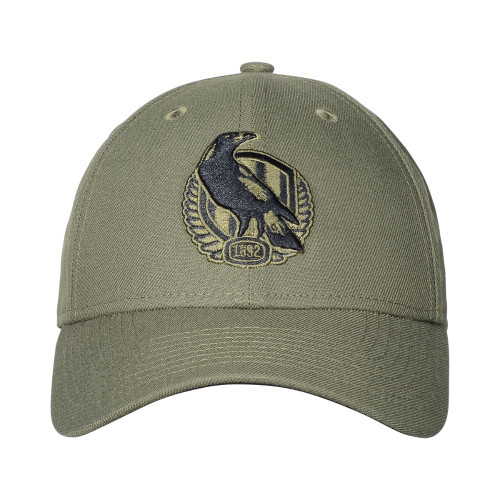 Collingwood 2020 New Era Olive/Black 9FORTY Cap