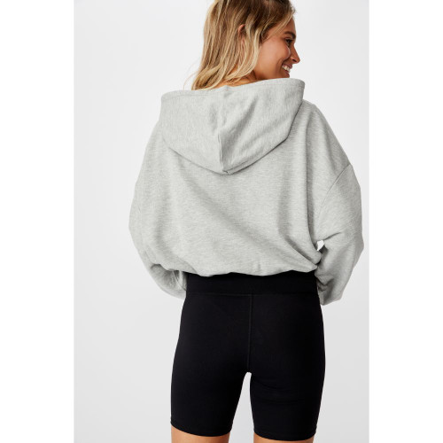 Collingwood Cotton:On Womens Chopped Hoody