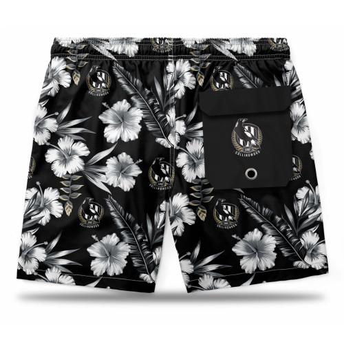 Collingwood Adults Hawaiian Shorts