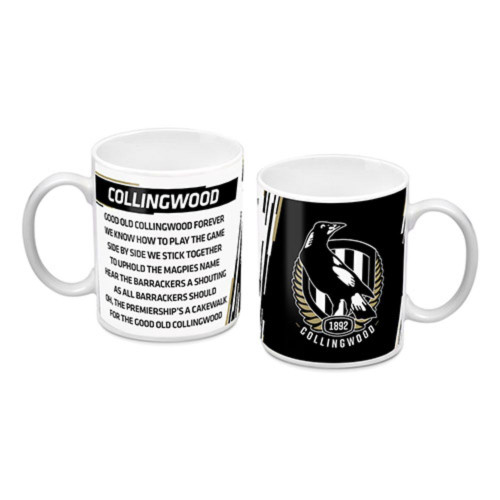 Collingwood Logo & Song Mug
