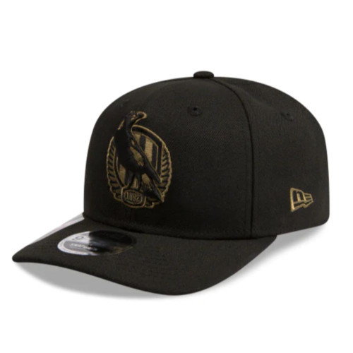 Collingwood 2020 New Era Black/Olive 950 Strech Cap