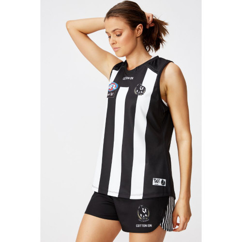 Collingwood AFLW 2020 Adults Home Guernsey