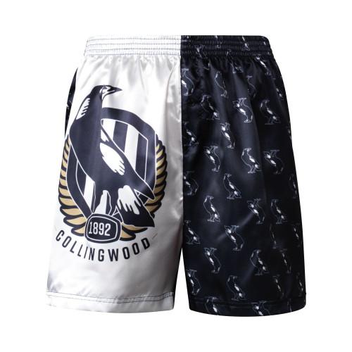 Collingwood Mens Satin Boxer Shorts