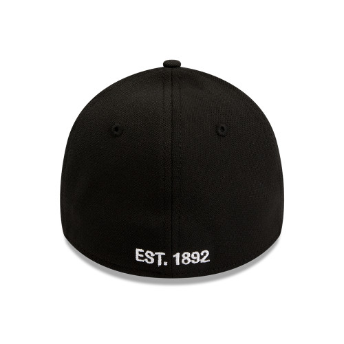Collingwood New Era 39Thirty Magpie Cap