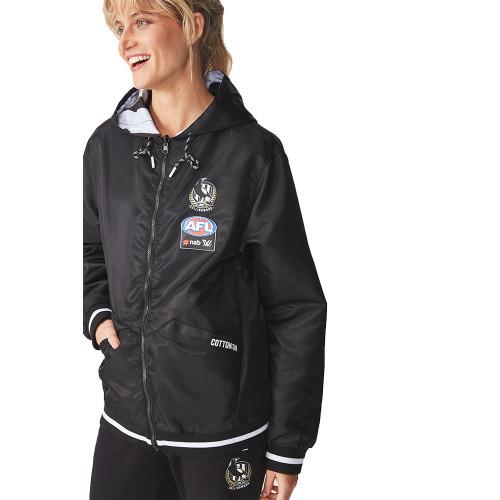 Collingwood AFLW 2019 Adults Reversible Jacket