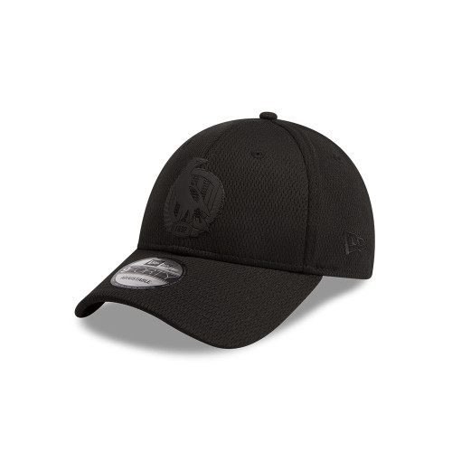 Collingwood New Era Black on Black 9FORTY Snapback
