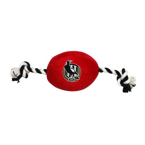 Collingwood Pet Football Toy