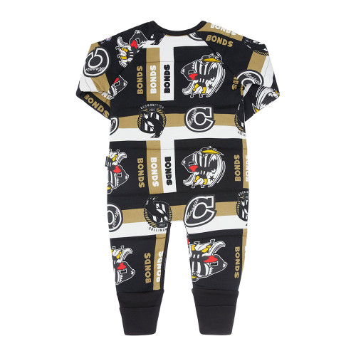 Collingwood Bonds Padded Infants Zip Wondersuit