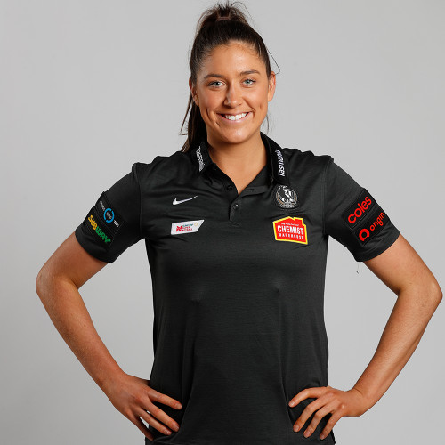 Collingwood Nike 2020 Netball Womens Polo