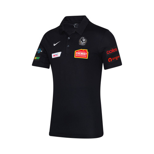 Collingwood Nike 2020 Netball Mens Polo