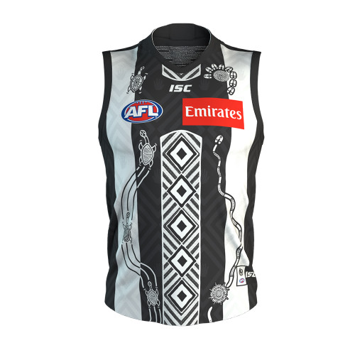 Collingwood ISC 2020 Womens Indigenous Guernsey