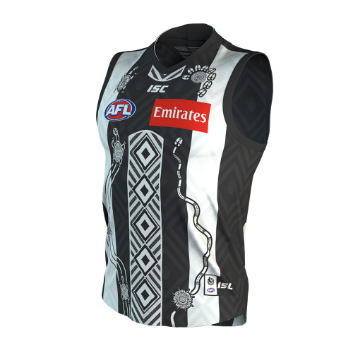 Collingwood ISC 2020 Kids Indigenous Guernsey