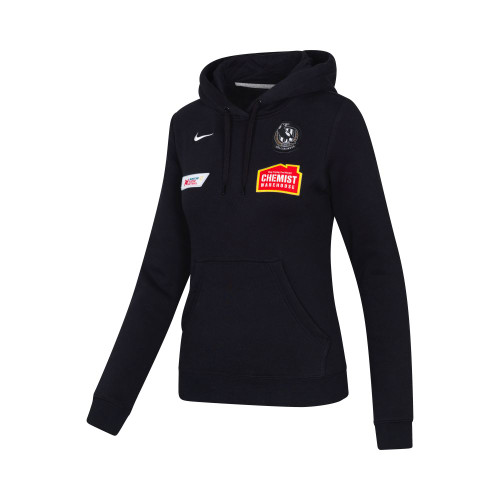 Collingwood Nike 2020 Netball Womens Black Hoody