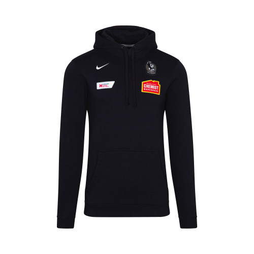 Collingwood Nike 2020 Netball Mens Black Hoody