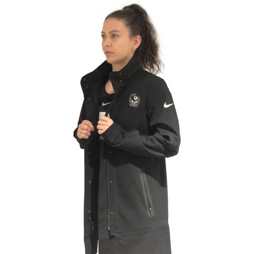Collingwood Nike 2020 Netball Hypershield Jacket