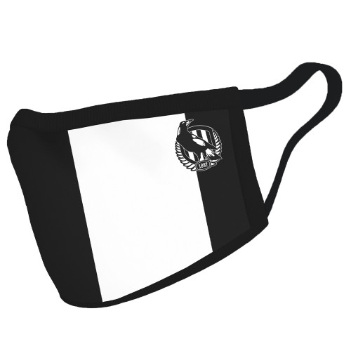 Collingwood 3 Pack Face Masks - Club Exclusive