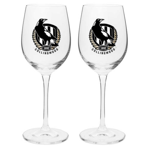 Collingwood Wine Glass 2 Pack