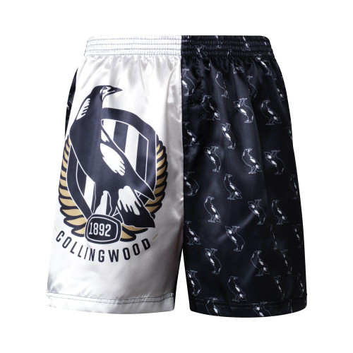 Collingwood Kids Satin Boxer Shorts
