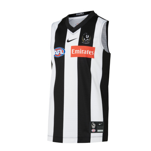Collingwood Nike 2021 Kids Home Guernsey