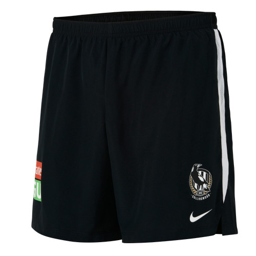 Collingwood Nike 2021 Kids Training Shorts