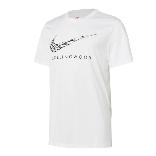 Collingwood Nike 2021 Kids T-Shirt White