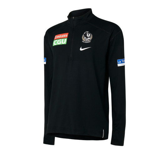 Collingwood Nike 2021 Mens Elite Half Zip Top