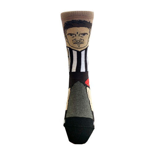 Collingwood Brayden Maynard Adults Nerd Sock