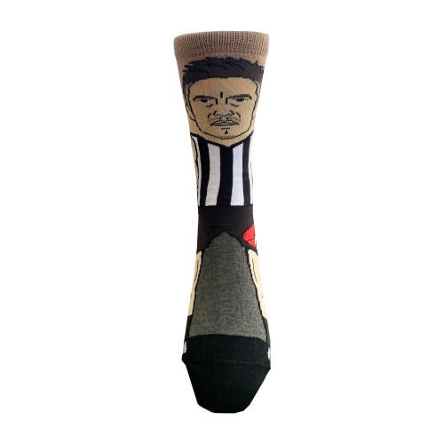 Collingwood Brayden Maynard Kids Nerd Socks