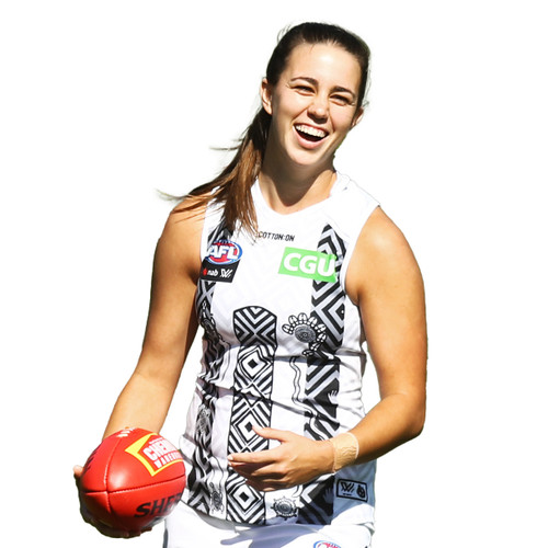 Collingwood AFLW 2021 Adults Indigenous Guernsey