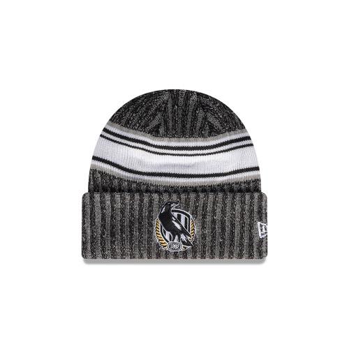 Collingwood New Era Knit Stripe Cuff Beanie