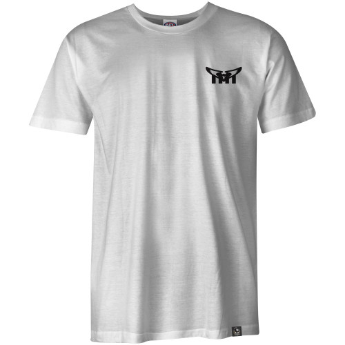 Collingwood White Tee - Swooping Magpies Collection