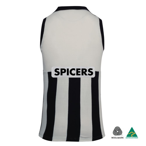 Collingwood 1995 ANZAC Merino Wool Commemorative Guernsey - Australia Made