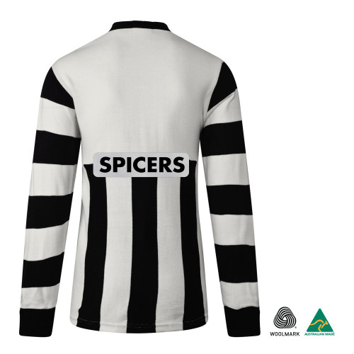 Collingwood 1995 ANZAC Merino Wool Commemorative Long Sleeve Guernsey - Australia Made