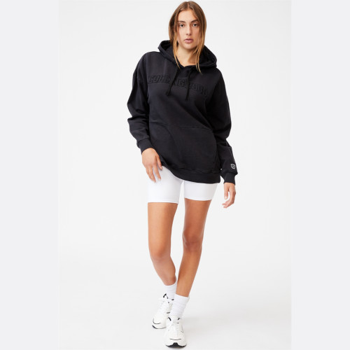 Collingwood Cotton:On Womens Embroidered Pocket Hoodie