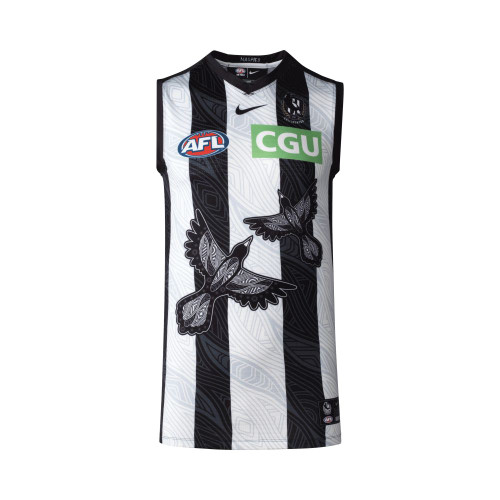 Collingwood Nike 2021 Womens Indigenous Guernsey