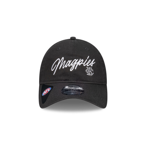 Collingwood 2021 New Era 9Twenty Retro Script Cap