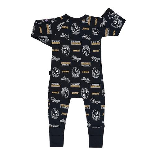 Collingwood Bonds Babies Zip Wondersuit