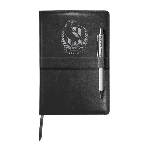 Collingwood 2021 Notebook and Pen Gift Pack