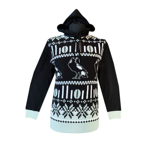 Collingwood 2021 Adults Hooded Ugly Sweater