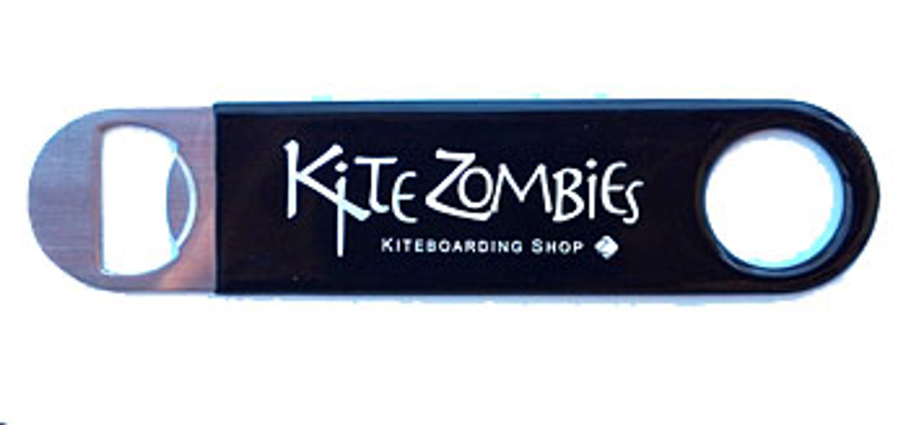 Kite Zombies Stainless Bottle Opener