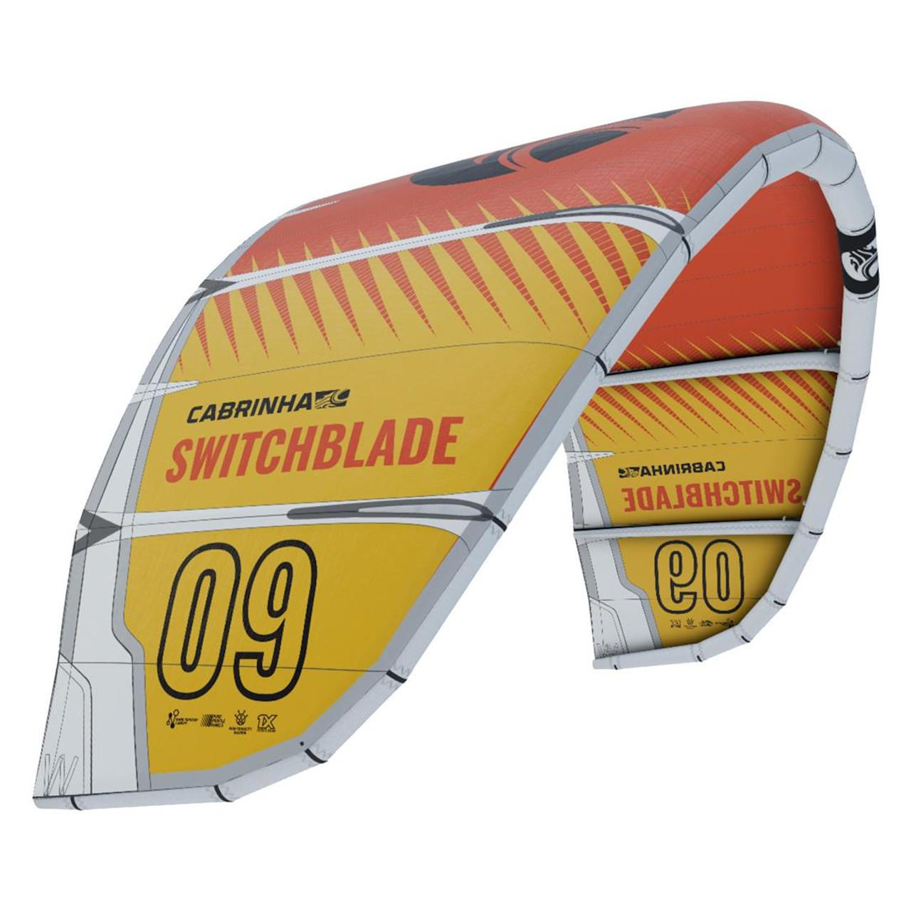 2021 Cabrinha Switchblade - Yellow/Red