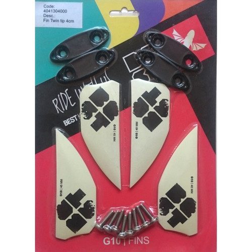 Best Kiteboard Fin Set