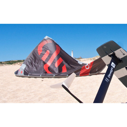 Eleveight 2020 OS Kite with Foil (on beach)