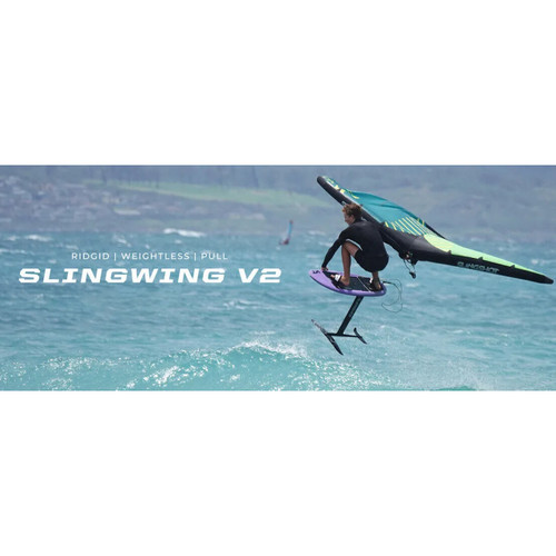 Slingshot Slingwing V2 Foiling Action