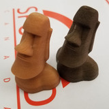 Light Dark Brown Wood Filament 3D Printing Canada 1.75mm
